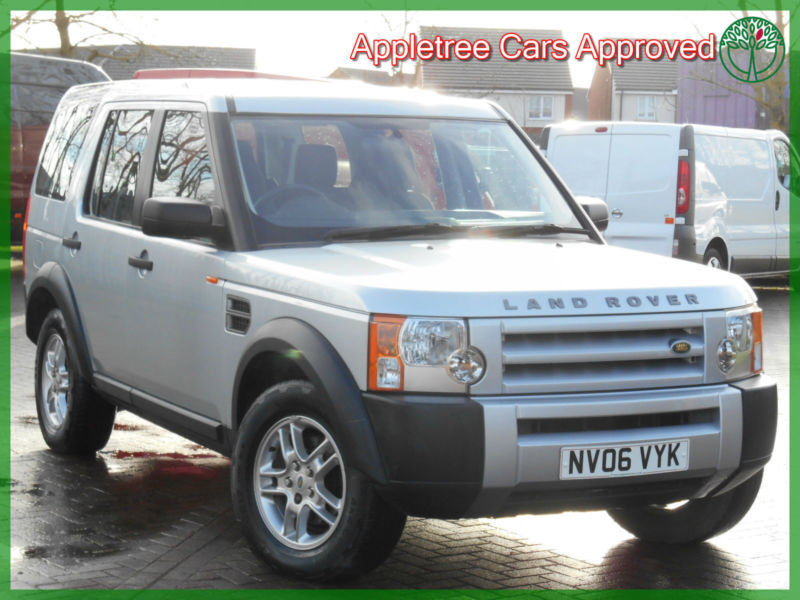 Land Rover Discovery Best 7 Seater Cars: 2006 (06) Land Rover Discovery 3 2.7 TDV6 7 Seater