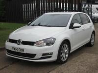 2014 14 VOLKSWAGEN GOLF 2.0 GT TDI BLUEMOTION TECHNOLOGY 5D 150BHP. MK7. BIG SPE