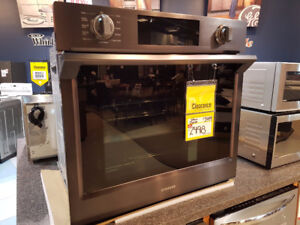 Samsung 5.1 Cu. Ft. Convection Wall Oven with Steam Bake – NV51K