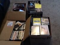Massive joblot of dvds,CDs and games 450+ items