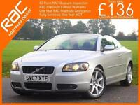 2007 Volvo C70 2.4 T5 Sport Auto Convertible Electric Hard Top Heated Seats Wint