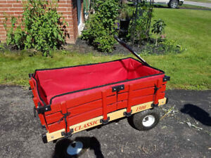 Millside Deluxe Wagon with Cushions and Cover