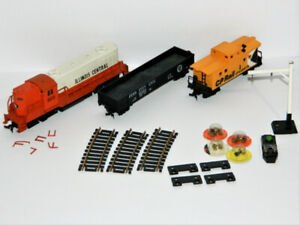 HO Scale Train And Parts