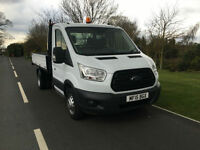 2015 15 FORD TRANSIT TIPPER 350 2.2CDTI 125BHP EURO 5 1 COMPANY OWNER