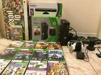 Xbox 360 250gb with Kinect bundle