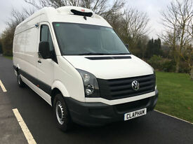2015 65 VOLKSWAGEN CRAFTER LWB 2.0TDI CR35 135BHP FRIDGE/FREEZER LOW MILEAGE