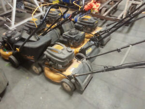 6 Cubcadet Lawnmowers all run what you see in pics