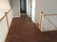 Flooring Installation, Laminate and Hardwood