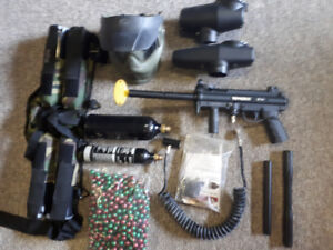 Tippman A5 paintball package