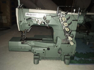 12 Industrial sewing machines