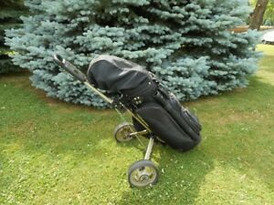 Fairway Decision Golf Clubs , Bag And Cart