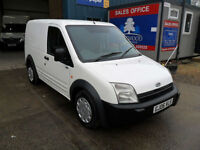 FORD TRANSIT CONNECT 200D 100PS SWB WHITE DIESEL 06REG
