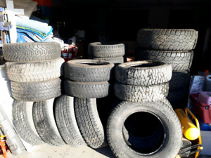 MANY SIZES OF GOOD QUALITY USED TIRES AVAILABLE 587-227-3524