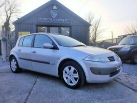 Renault Megane Hatch Dynamique 1.5 dCi 86 EU4 (silver) 2005