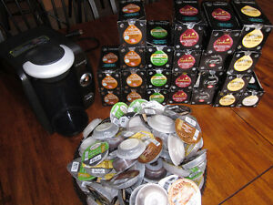 Industrial Tassimo and supplies shown