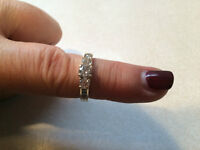 Beautiful Diamond Ring (lots of bling)