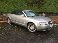 05/54 plate Audi A4 Cabriolet for sale £2,500