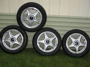 Quatre Mags et 4 pneus
