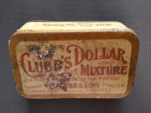 Vintage Clubb's Mixture Tobacco Tin