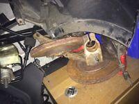 VW golf gti mk6 breaks suspension