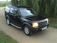 Land Rover Discovery 3 2.7TDV6 XS Commercial 135000 FSH Java Black Black Leather