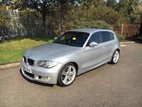 2008 BMW 1-Series 120i M-Sport 170bhp✅Low miles✅Full leather✅px welcome