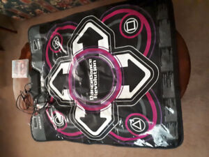 dance dance revolution mat with game ps3