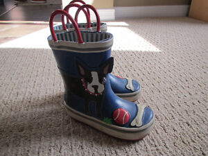 Boys Joe Fresh Rain boots - size7