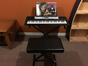 Yamaha keyboard for sale - willing to negotiate on price