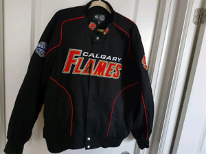 NHL G-III Sports Jacket Calgary Flames Team