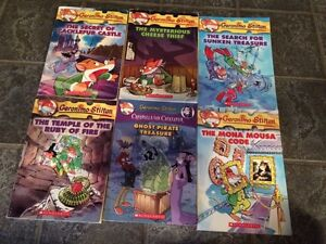 6 Geronimo Stilton books