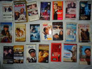 LOT of VHS - 250 Movies in English