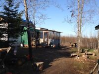 12.8 acres with recreation camp