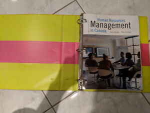 Human Resources Management in Canada: 13th Canadian Ed.