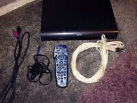 2tb harddrive hd sky box with remote and all wires £70