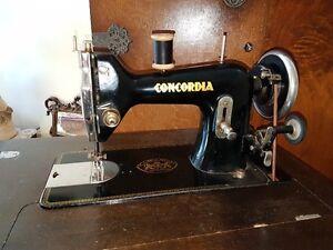 Antique Concorida Trestle Sewing Machine