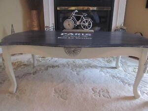 Paris themed Coffee and end tables set