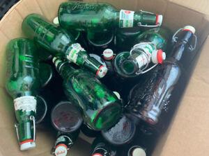 """flip top beer bottles - home brewing"""""""