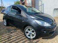 2011 Ford KA METAL METALLIC BLACK 53,000 miles Hatchback Petrol Manual