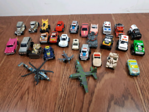 micro toy car lot