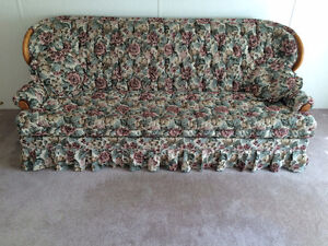Couch/queen hide-a-bed! Free for pick up only!