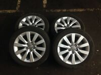 Audi A1 sport genuine Audi alloys with tyres