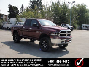 2017 RAM 1500 SLT QUAD CAB SHORT BOX 4X4 LIFTED **HEMI**