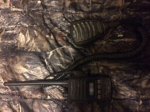 Icom (220 channel vhf hand held radio)