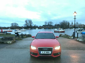 2011 Audi A4 2.0 TDI S-LINE AUTOMATIC AVANT 5 DOOR ESTATE RED*FINANCE AVAILABLE*
