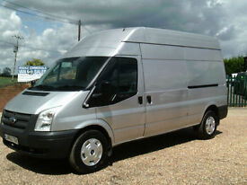 Ford Transit 2.2TDCi 125PS EU5 RWD 6SPEED 350L LWB HIGH ROOF IN SILVER