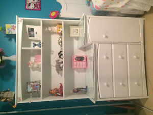 Hutch and dresser - great addition to child's room