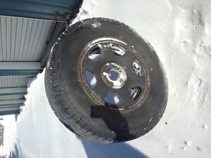 235/70 R16 tires tires and rims $250