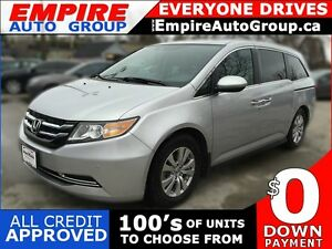 2015 HONDA ODYSSEY EX-L W/NAVI | LEATHER | SUNROOF | REAR VIEW C