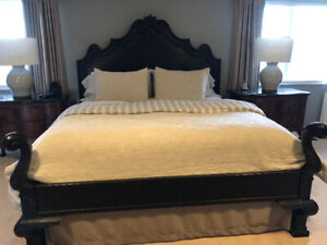 Drexel Heritage Solid Wood King Size Bed